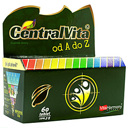 CentralVita® od A do Z - 60 tablet