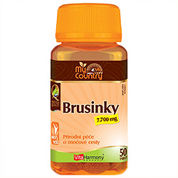 My Country - Brusnice 7.700 mg - 50 tablet