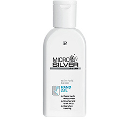 Microsilver Plus Gél na ruky - 75 ml